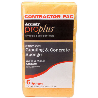 Armaly ProPlus 6-Pack Polyurethane Sponges 72663 Cleaning Supplies Tools