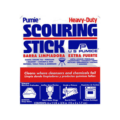 Pumie Pumice Scouring Stick 210456 Cleaning Supplies Tools Sponges Scouring Pads