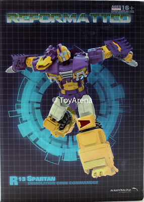 Transformers Toys MMC R-13 Spartan aka Impactor IDW Wrecker Series New in stock