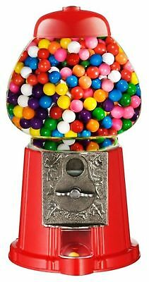 Mini Gumball Vending Dispenser Machine Toy Bubble Gum Party Bag Coin Operated