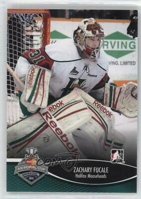 2012-13 In the Game Heroes and Prospects Memorial Cup #MC-03 Zachary Fucale Card