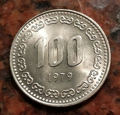 1979 South Korea 100 Won Coin - #4066
