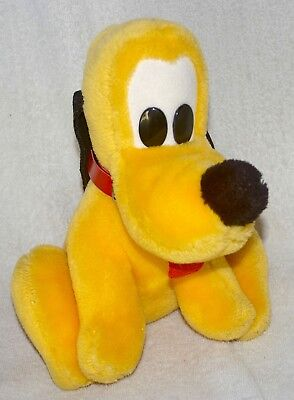 Vintage plush Pluto - Mickey Mouse's dog by Croner Toys for Disney