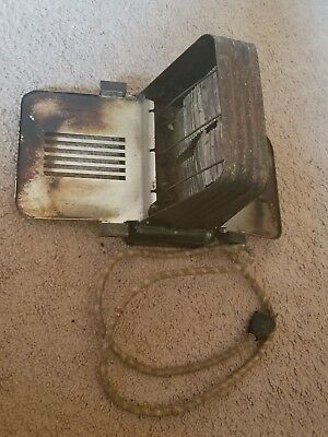 Antique Montgomery Ward Flip Down Toaster #5238~Not Tested