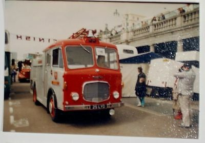 1961 Dennis F28 Water Tender reg 25 LYD at Brighton Collector Colour Photo 38512