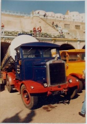 1943 Scammell 20 reg GXC 473 at Brighton Collectors Colour Photograph No 38529