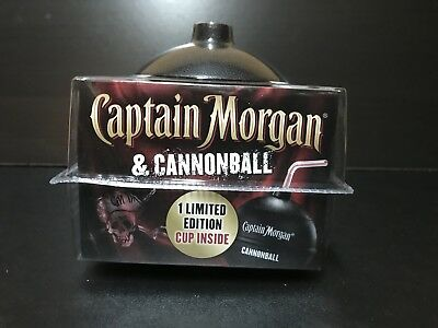 Captain Morgan Cannonball Cup NEW Spiced Rum