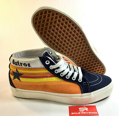 NEW VANS SK8 MID - Blue Nights | Houston Astros A3MV8RTI MLB Baseball Classic x1
