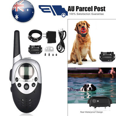1000M Rechargeable E-Collar LCD Electric Shock Pet Dog Training Remote Control