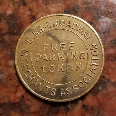 City Of Cleveland - Free Parking Token - #3843