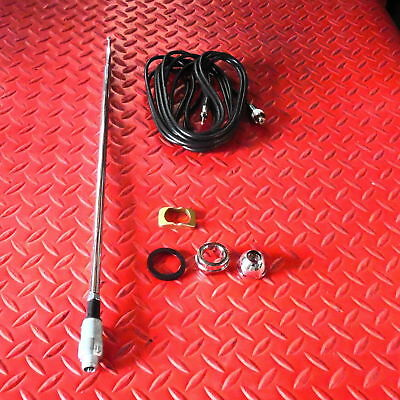CHEVROLET CHEVY 65 - 66 IMPALA CHEVELLE CAMARO RIGHT REAR RADIO ANTENNA KIT zr