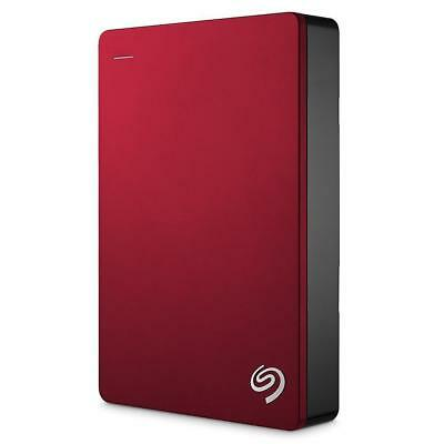 4TB Seagate Backup Plus USB 3.0 Portable External Hard Drive Red