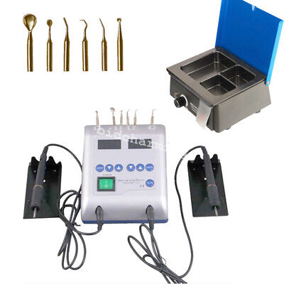 Sale Dental lab Electric Waxer Carving Pen Machine 3-Well Pot Analog Wax Heater