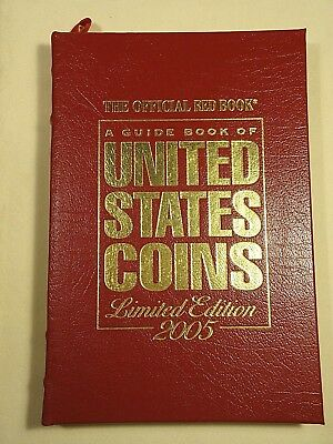 2005 Limited Edition Leatherbound Guide Book of United States Coins