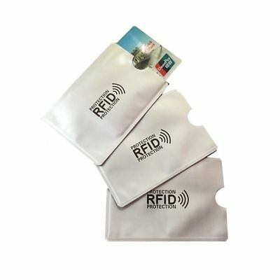 10 Card RFID Blocking Contactless Debit Credit Card Protector Sleeve Wallet Case