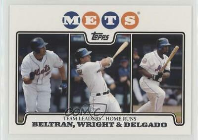 2006 Fleer New York Mets Team Set 15 David Wright Carlos