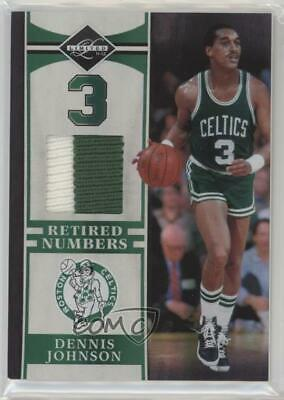 3a12ab5f6 2011-12 Limited Retired Numbers Materials Prime 14 Dennis Johnson Boston  Celtics