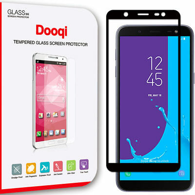 Dooqi For Samsung Galaxy J6 2018 Full Cover Tempered Glass Screen Protector