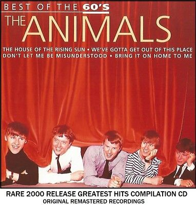 The Animals - The Very Best Original Greatest Hits Collection RARE 2000 CD 60's