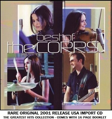 The Corrs Very Best Greatest Hits Collection RARE 2001 CD 90's Irish Celtic Pop