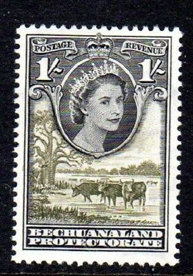 1955-58 BECHUANALAND 1/- cattle drinking SG149 mint very light hinged