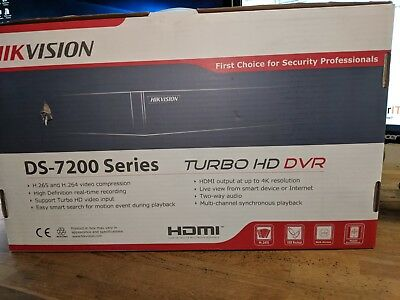 Hik Vision DS - 7200 Turbo HD DVR