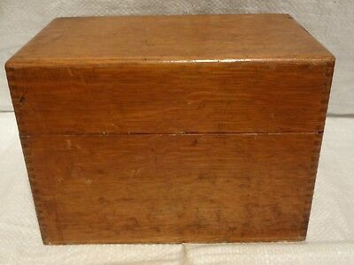 Vintage Wooden Storage Box, Teacaddy, Stationary Other - ???