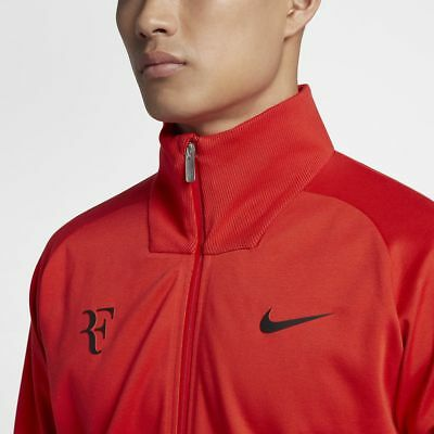 Nike 887539-634 Court RF Jacket Federer Red Size M and L