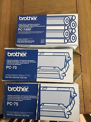 brother pc 75 fax printer cartridges and refill rolls