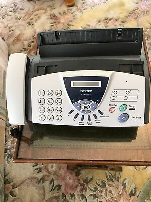 BROTHER FAX-T104 FAX MACHINE with Phone. New old stock
