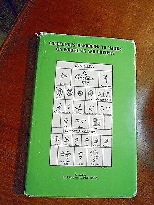 Collector's Handbook to Marks on Porcelain and Pottery E Paul & A Petersen 1974