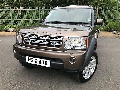 Land Rover Discovery 4  - 3.0 SD V6 Panel Van 4X4 5dr