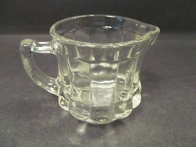 Post Cereals Advertising Clear Measured 4 oz Creamer in Excellent Condition