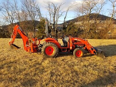 2014 Kioti CK 25 Tractor, Loader, Backhoe