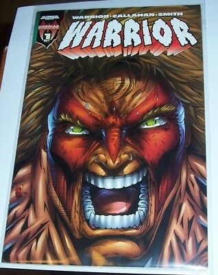 WWF (now WWE) Ultimate Warrior Comic Book #1 Near MINT Condition!