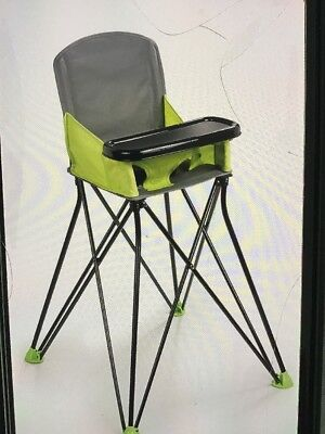 Summer Infant Pop and Sit Portable Highchair Green 2day Ship
