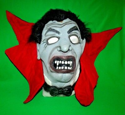 Easter Unlimited Dracula Vampire Count Rubber Halloween Mask