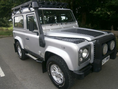 Land Rover Defender 90 Td5  County 2003  Upgrades  Aircon Leather  Winter pack