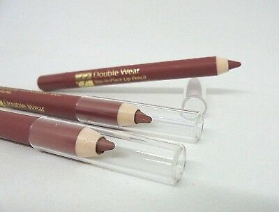 Lot/3 Estee Lauder Double Wear Stay-in-Place Lip Pencil ~ 04 Rose ~ Travel Size