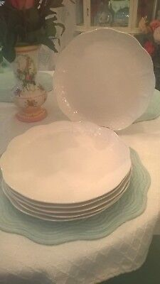 """Lenox China BUTTERFLY MEADOW CLOUD Dinner Plate(s) 11"""" Pre-owned"""