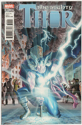 The Mighty Thor #701 ALEX ROSS LEGACY VARIANT 1:50 MARVEL COMICS 2017