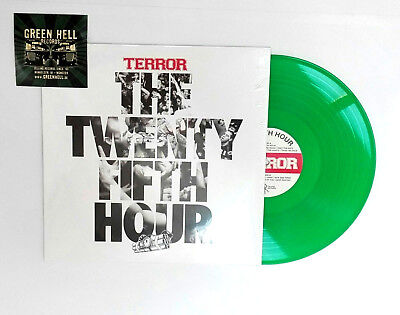 Terror 25th Hour ltd col.LP Exclusive green Pressing HC Agnostic Front madball