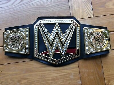 wwe world heavyweight championship wrestling belt aj styles 2018 network cena