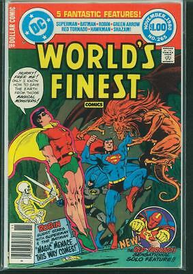 World's Finest Comics #265 and #267 (2 book lot)