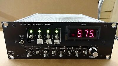 MKS 247C 4-Channel Readout Power Supply and Controller