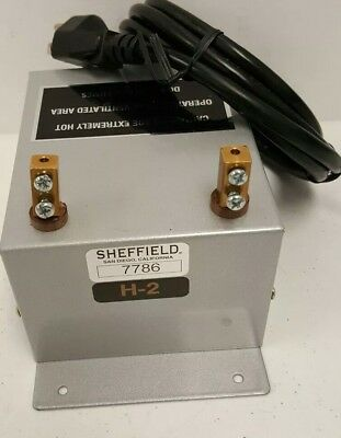 Sheffield Bench Mount Electric Rope Cutter H2