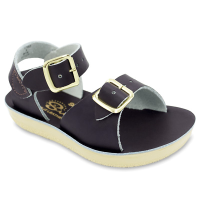 ffeb2a026b50 SALT WATER BY Hoy Kid Girl Hoyway Gold Leather Casual Sandals Shoes ...