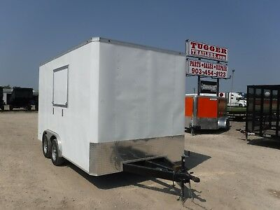 8.5x14 14ft T-Series Concession Stand Food Candy Vending Carnival Fair Trailer!!
