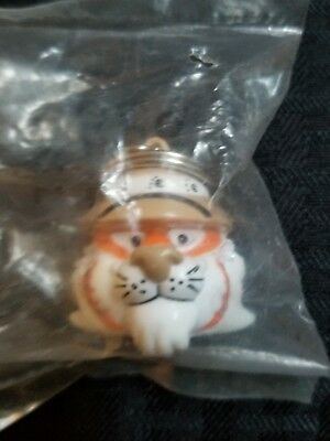 Exxon Tiger Safari Hat Promotional Keychain 1997