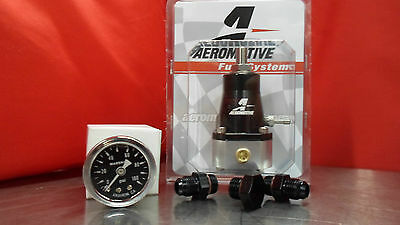 Aeromotive Regler & Gauge & Fitting Kit (2) 6-an (1) Plug 13129